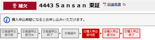 SanSan野村で補欠当選