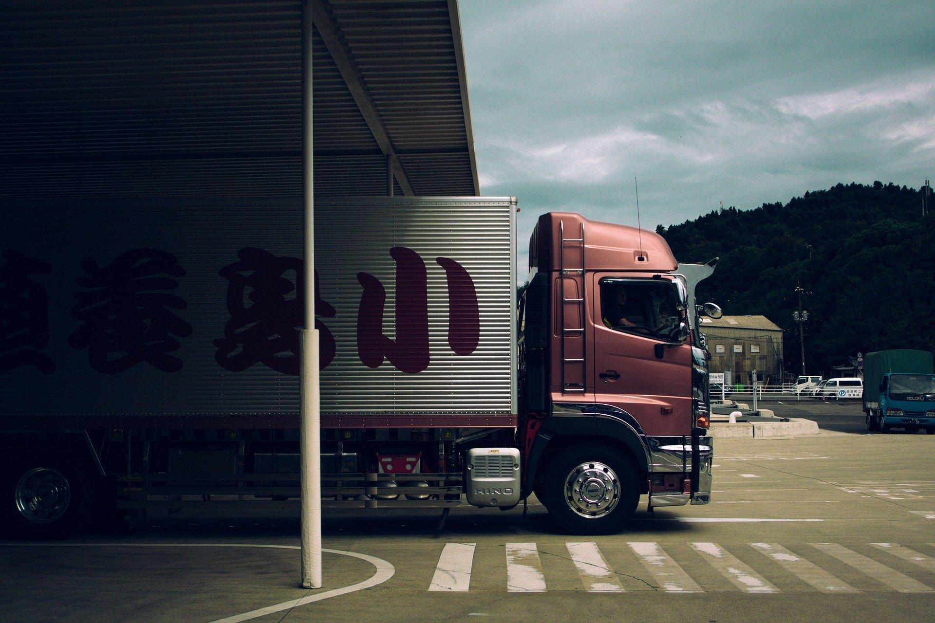 物流を担うトラック