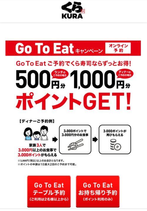 くら寿司GOTOEAT